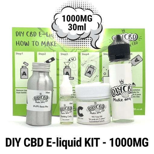 DIY CBD E-Liquid Kit 1000MG buy shop UK