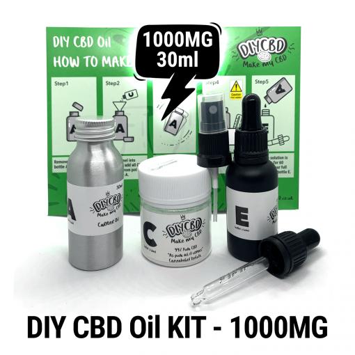 DIY CBD Oil Kit 1000MG buy shop uk