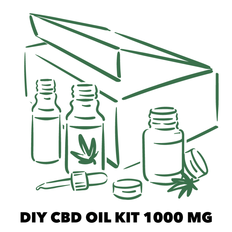 DIY CBD OIL KIT 1000MG
