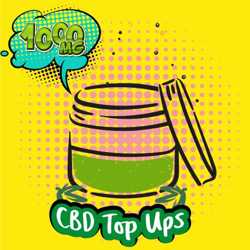 CBD Shots and DIY CBD Top-Ups 1000MG
