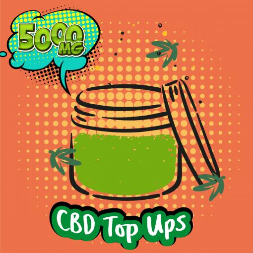 CBD Shots and DIY CBD Top-Ups 5000MG