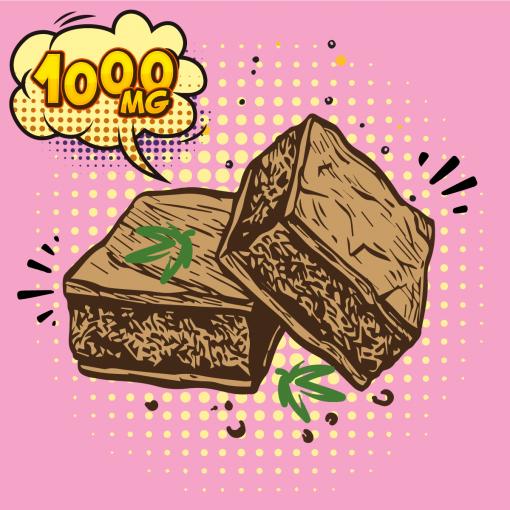Chocolate DIY CBD Brownie Mix 1000mg