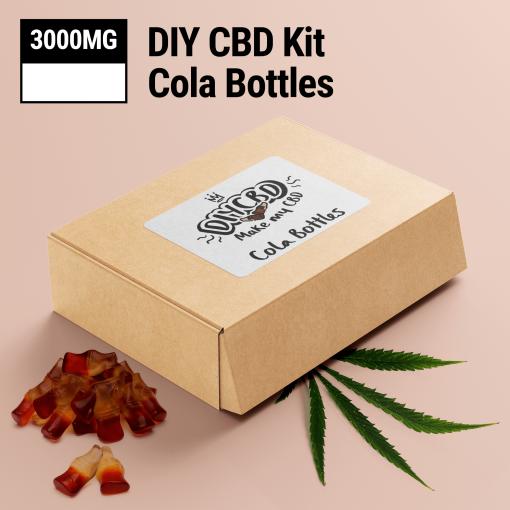 DIY CBD Cola Bottles 3000mg