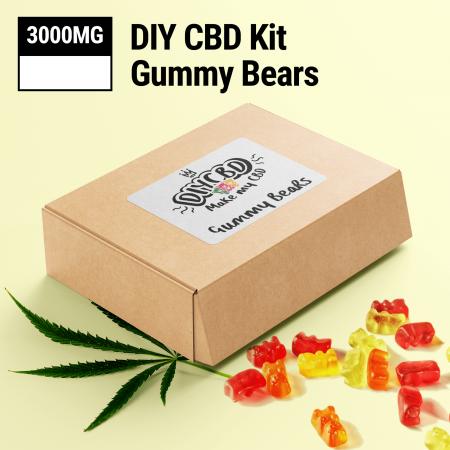 DIY CBD Gummy Bears 3000MG