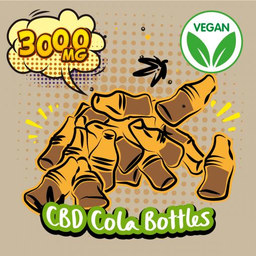 DIY CBD Vegan Cola Bottles 3000MG