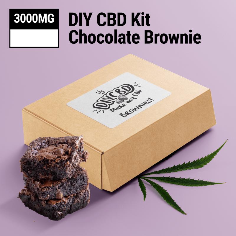 Chocolate DIY CBD Brownie Mix 3000mg