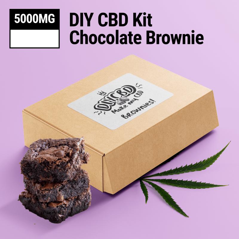 Chocolate DIY CBD Brownie Mix 5000mg