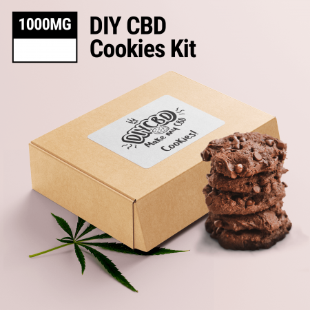 Chocolate DIY CBD Cookie Mix 1000mg