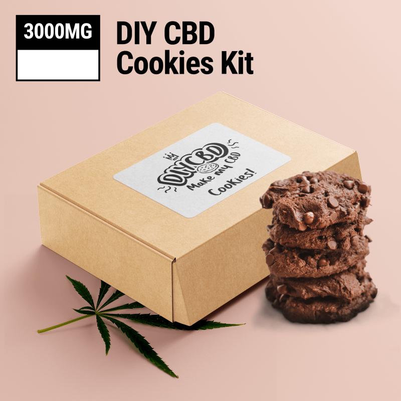 Chocolate DIY CBD Cookie Mix 3000mg