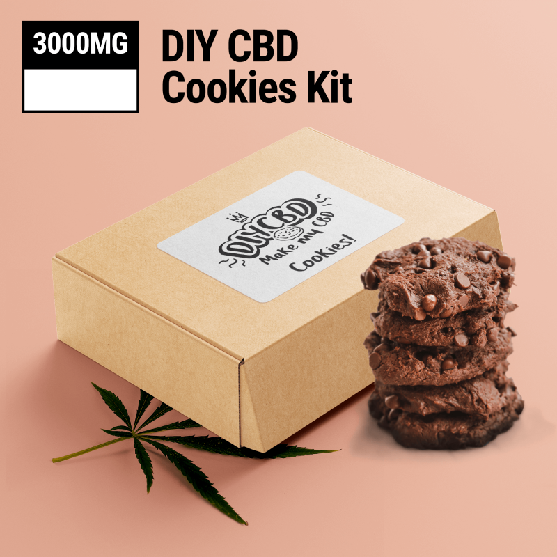 Chocolate DIY CBD Cookie Mix 5000mg