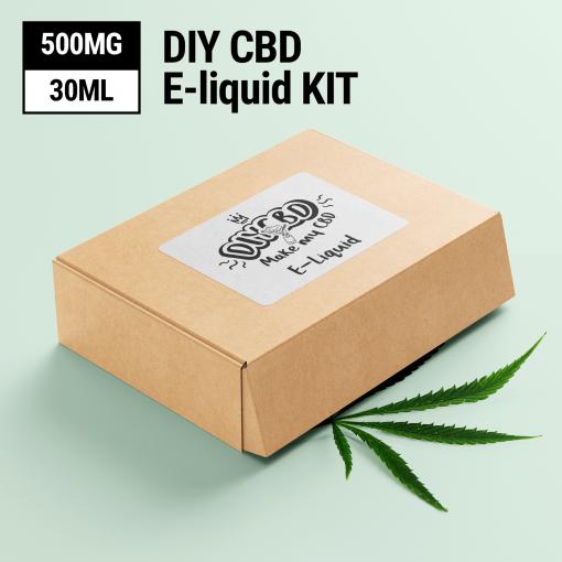 DIY CBD E-Liquid Kit 500MG buy shop UK