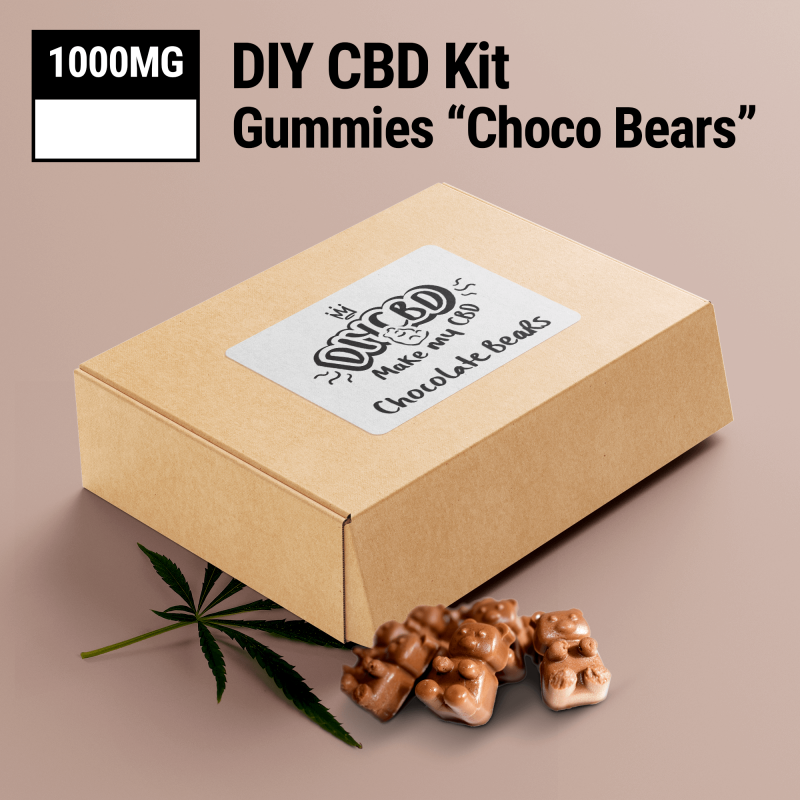 DIY CBD Choco Bear Kit 1000mg