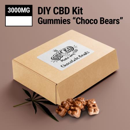 DIY CBD Choco Bear Kit 3000mg