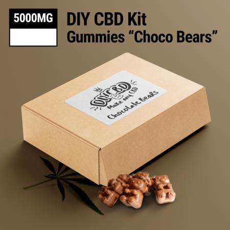 DIY CBD Choco Bear Kit 5000mg