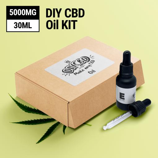 DIY CBD Oil Kit 5000MG buy shop uk
